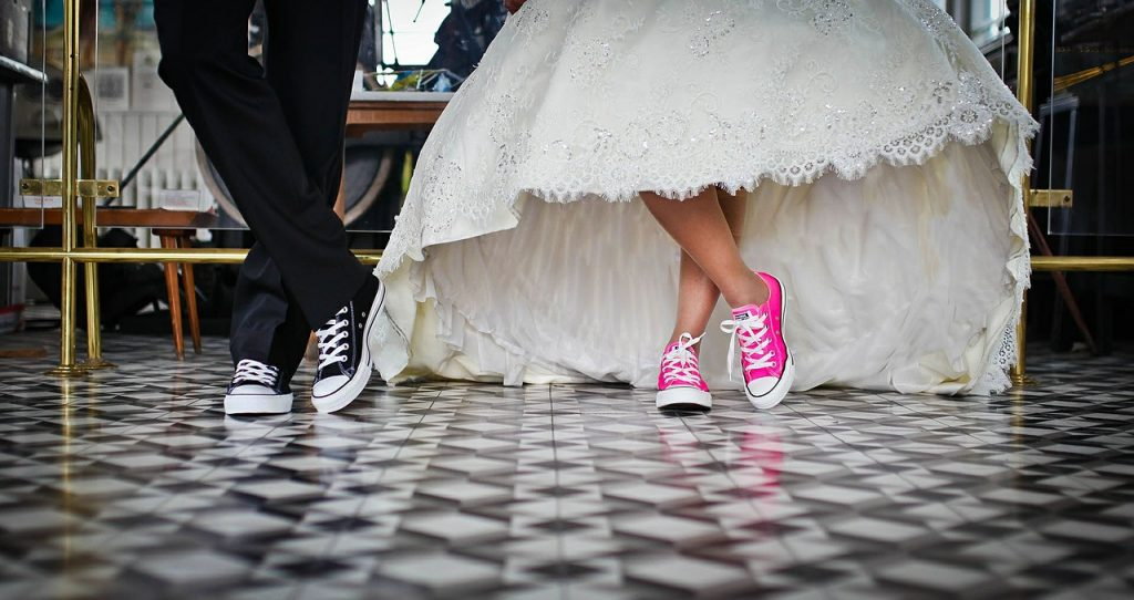 Du mariage blanc au mariage gris…